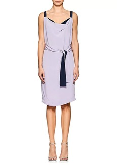 Narciso Rodriguez Women's Silk Crepe Wrap Dress