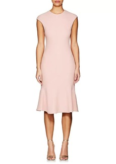 Narciso Rodriguez Women's Textured Wool Flounce Dress