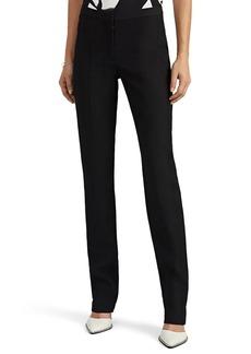 Narciso Rodriguez Women's Virgin Wool Straight-Leg Trousers