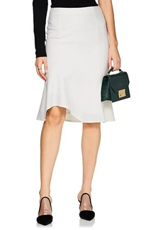 0bd3f0240 Narciso Rodriguez Asymmetric Stretch-wool Midi Skirt | Skirts