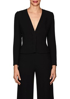 Narciso Rodriguez Women's Wool Cady Collarless Jacket
