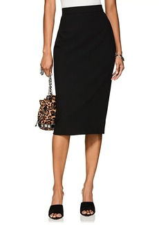 Narciso Rodriguez Women's Wool Canvas Pencil Skirt