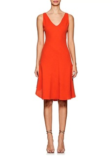 Narciso Rodriguez Women's Wool Crepe A-Line Dress