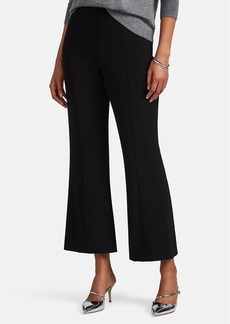 Narciso Rodriguez Women's Wool Crop Flared Trousers