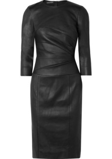 Narciso Rodriguez Stretch-leather Dress