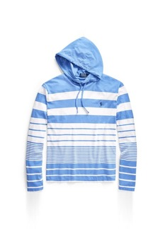 Narciso Rodriguez Striped Cotton Hooded T-Shirt