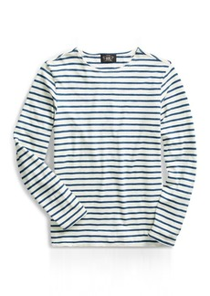 Narciso Rodriguez Striped Indigo Cotton T-Shirt
