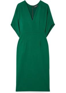 Narciso Rodriguez Wool-crepe Midi Dress