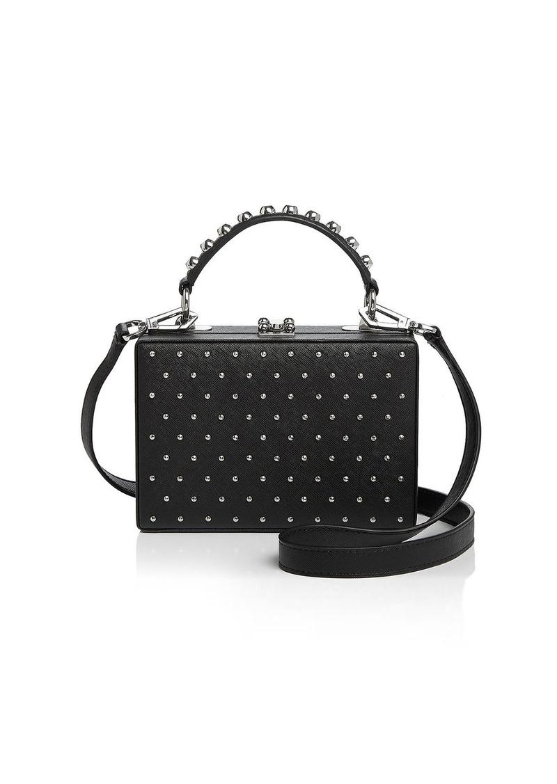 Nasty Gal Bo Trunk Studded Crossbody Handbags