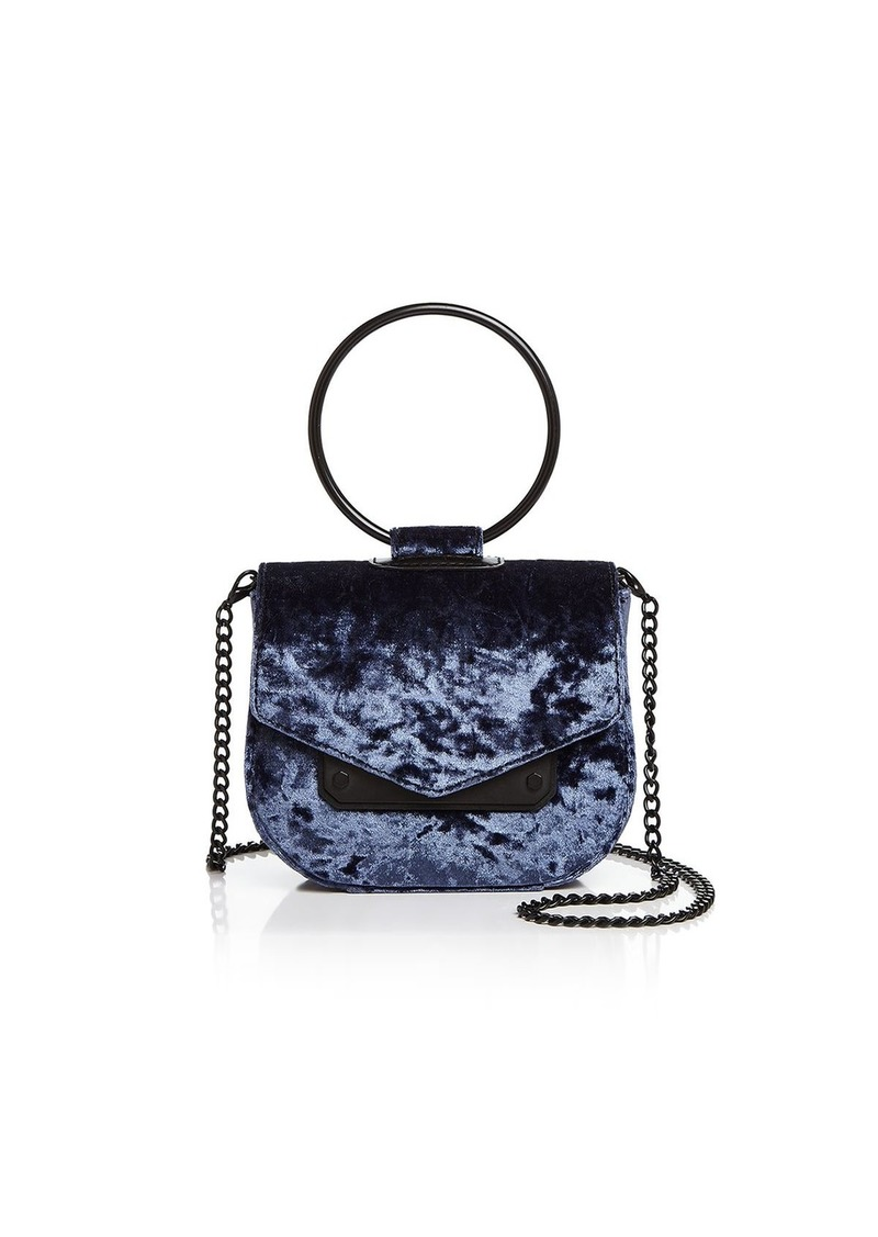 Nasty Gal Ring Leader Crushed Velvet Crossbody