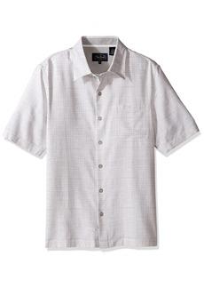 Nat Nast Men's Neat Traditional Fit Print Shirt  M