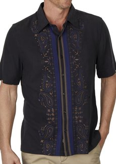 Nat Nast Men's Novelty Traditional Fit Short Sleeve Shirt black/1262 M
