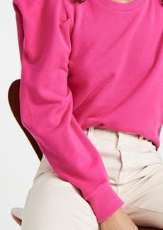 Nation Ltd. Nation LTD Joss Sweatshirt with Draped Sleeves