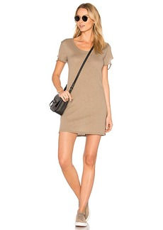 Nation Ltd. Nation LTD Layla Tee Dress in Taupe. - size L (also in M,XS)