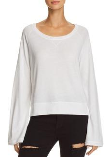 Nation Ltd. Nation LTD Marta Bell Sleeve Sweatshirt