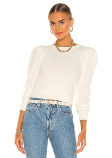 Nation Ltd. Nation LTD Nikka Pleat Shoulder Sweatshirt