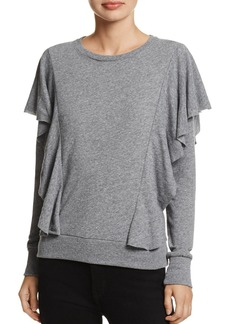 Nation Ltd. Nation LTD Senna Ruffled Sweatshirt
