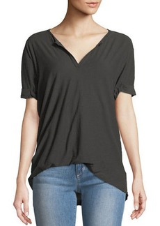 Nation Ltd. Nation LTD Tucked V-Neck Tee