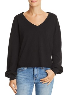 Nation Ltd. Nation LTD Willa Balloon-Sleeve Sweater