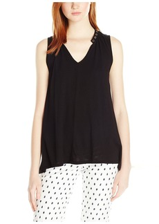 Nation Ltd. Nation Women's Janet Grommet Tank  S