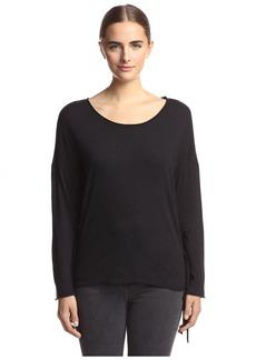 Nation Ltd. Nation Women's Priscilla Fringe Sweatshirt  S