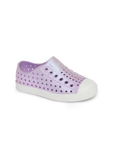 Native Shoes Jefferson Iridescent Slip-On Vegan Sneaker (Baby, Walker, Toddler & Little Kid)