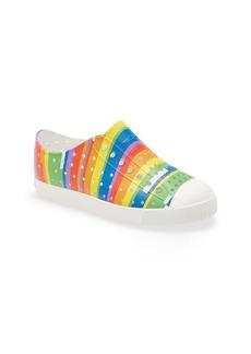 Native Shoes Jefferson Pineapple Print Water Friendly Vegan Sneaker (Baby, Walker, Toddler & Little Kid)