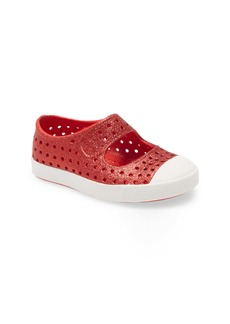 Native Shoes Juniper Bling Glitter Perforated Vegan Mary Jane (Baby, Walker, Toddler & Little Kid)