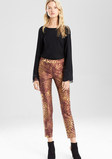 Animal Jacquard Pants