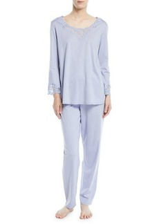 Natori Bliss Long-Sleeve Pajama Set