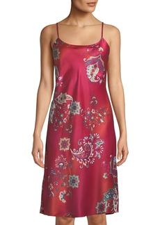 Natori Buddakan Paisley-Print Nightgown