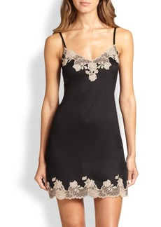Josie Natori Charlize Lace Embroidered Chemise