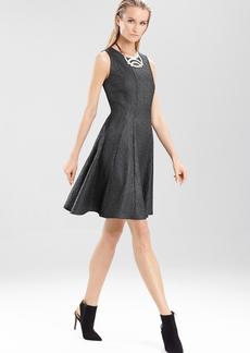 Chintz Texture Sleeveless Dress