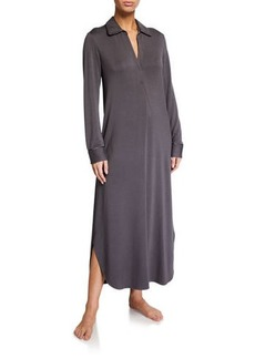 Natori Cozy Terry Cloth Lounger Nightgown