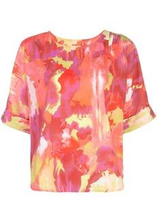 Natori Crepe de Chine T-shirt