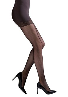 Natori Dotted Net Tights