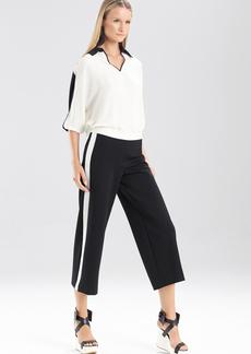 Double Knit Jersey Color Block Pants