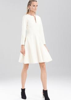 Double Knit Jersey Long Sleeve Dress
