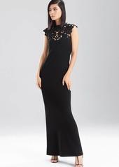 Natori Double Knit Jersey Maxi Dress