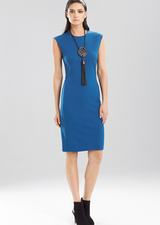 Double Knit Jersey Sleeveless Dress