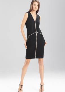 Double Knit Jersey Wedge Dress