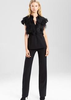 Embellished Double Knit Jersey Bolero