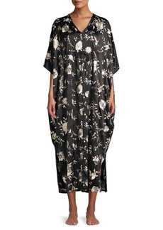 Natori Miyako Embroidered Caftan