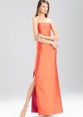 Natori Faile Long Strapless Dress