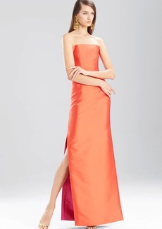 Natori Faile Long Strapless Dress