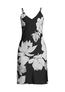 Natori Floral Slip Dress