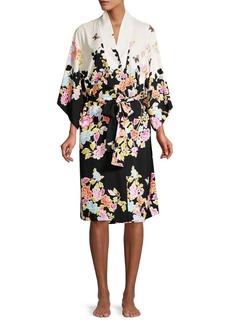 Natori Gardenia Floral Robe