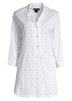 Natori Geometric Print Sleepshirt