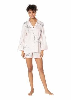 Natori Hakone Short Sleeve w/ Shorts PJ Set