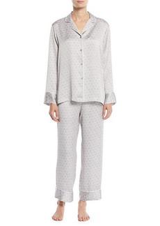 Natori Honeycomb Classic Pajama Set